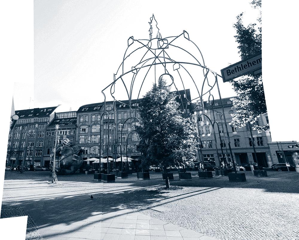 Memoria Urbana (Silhouette der ehem. Bethlehemskirche (Berlin)) (2012)