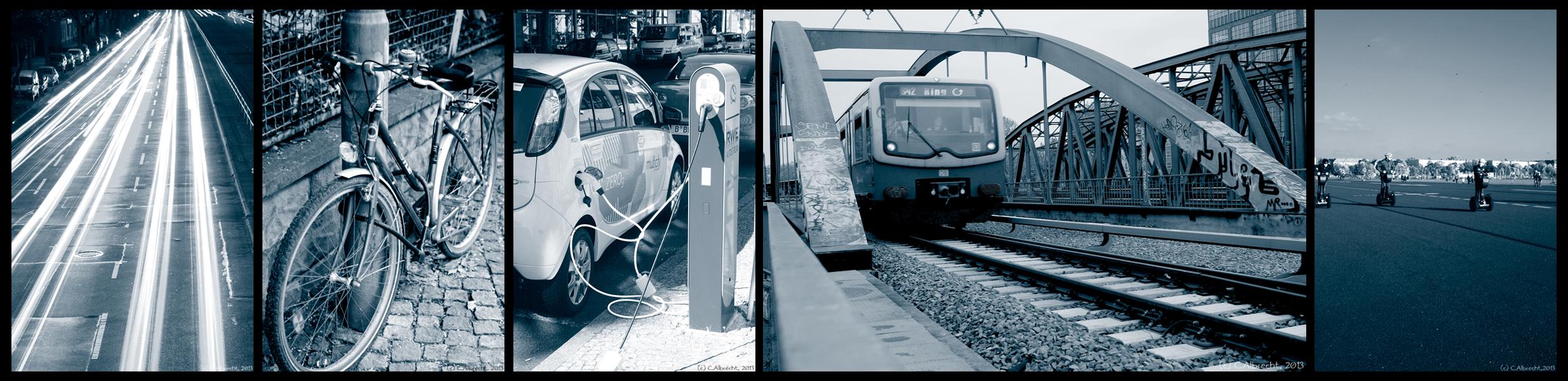 Impressionen urbaner Mobilität