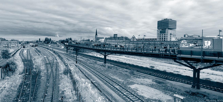 Blick auf den S-Bhf. Warschauer Straße