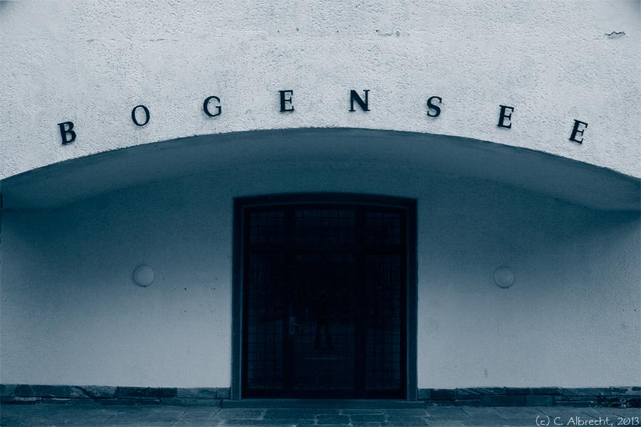 """Eingangsbereich des """"Landhaus Bogensee"""""""