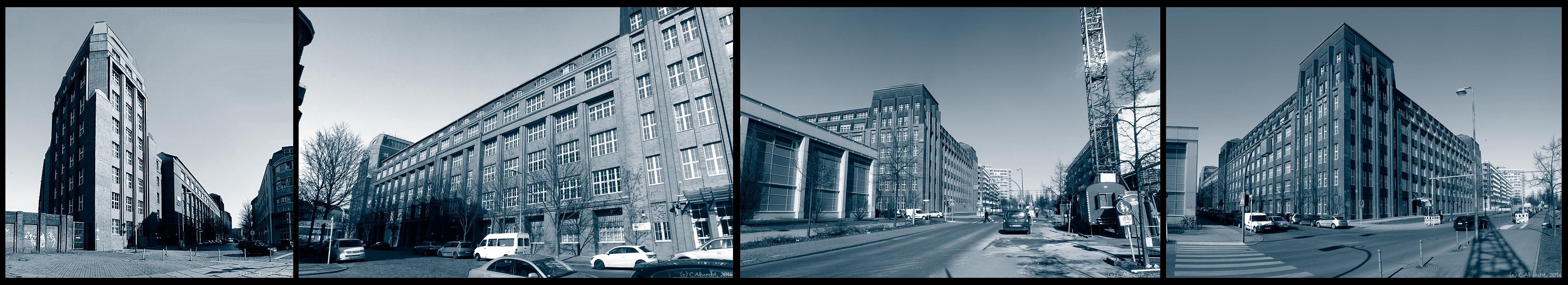 """ehem. Produktionsstandort der Knorr-Bremse AG in der Neuen Hirschberger Str. (""""Neue Fabrik"""")"""