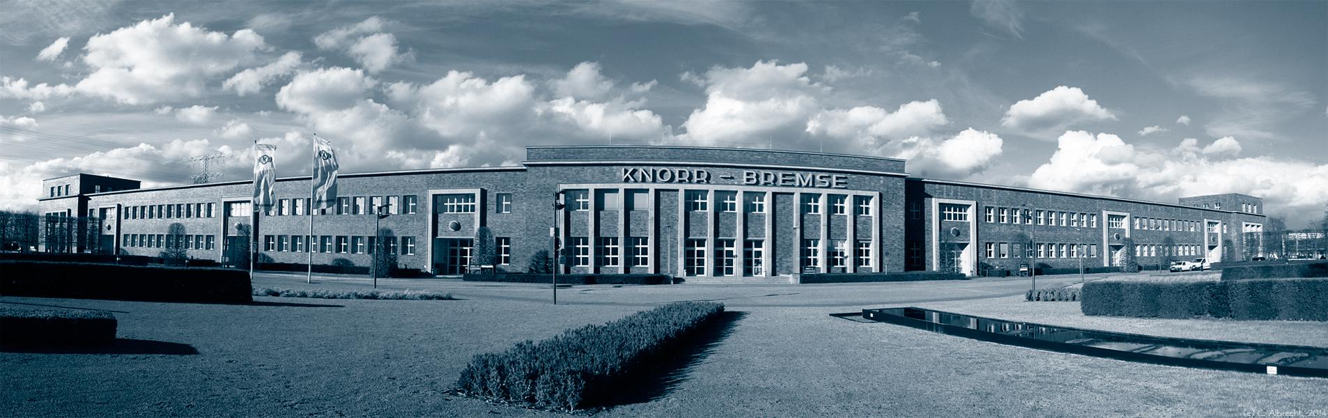 Knorr-Bremse Haupthaus am Standort Georg-Knorr-Straße (Nahe S-Bhf. Marzahn)