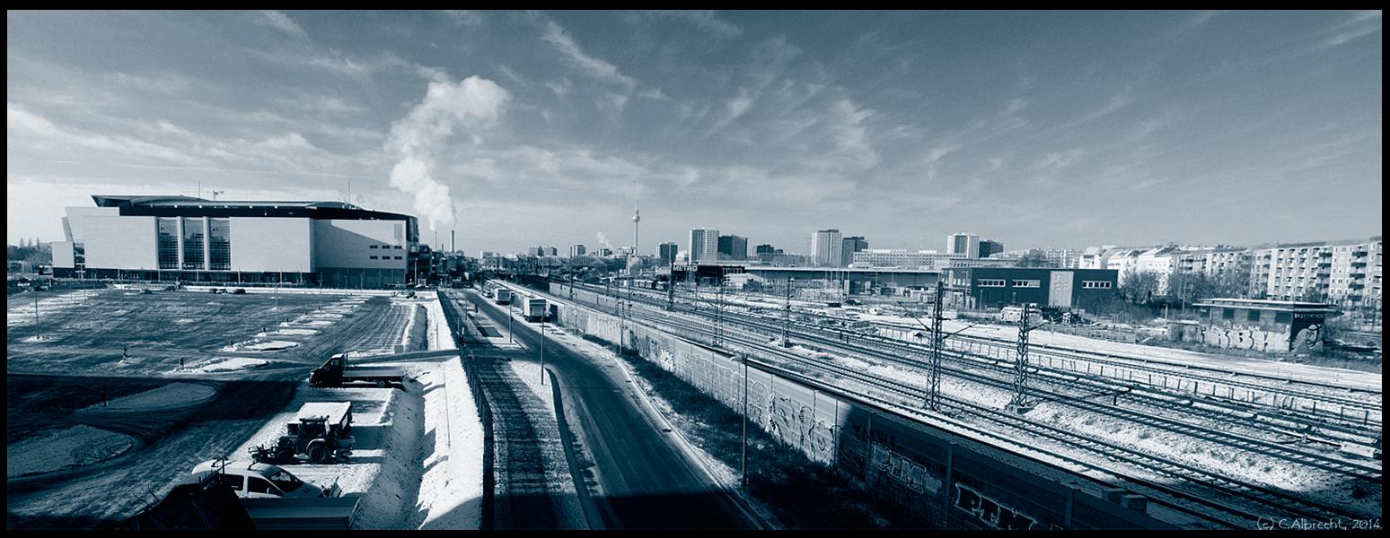 Blick von der Warschauer Brücke