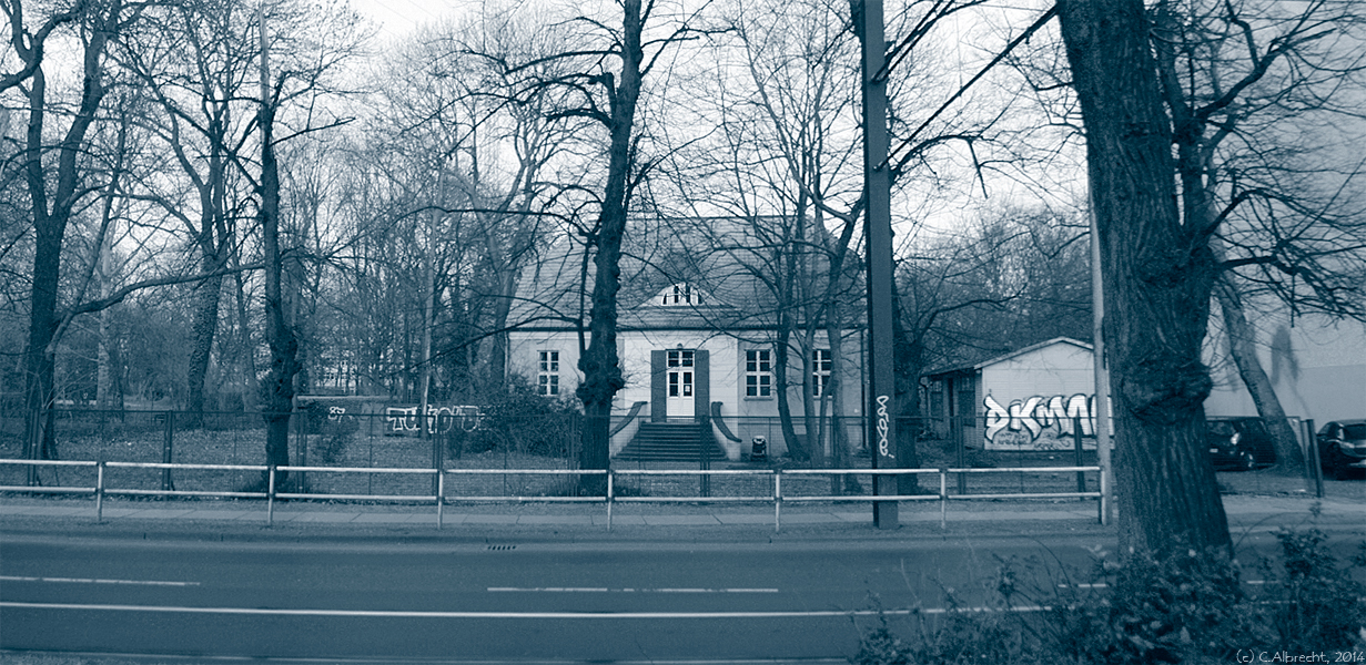 Altes Pfarrhaus Lichtenberg (Berlin) - eines der letzten Häuser des alten Dorfes Lichtenberg