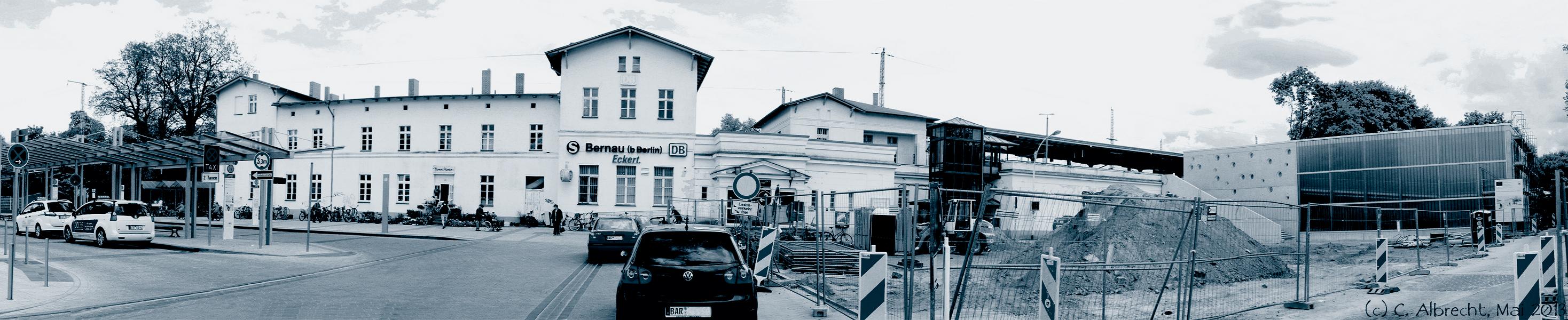 Bernau b. Berlin - vom Vorstadtbahnhof zum multimodalen und intermodalen Knoten