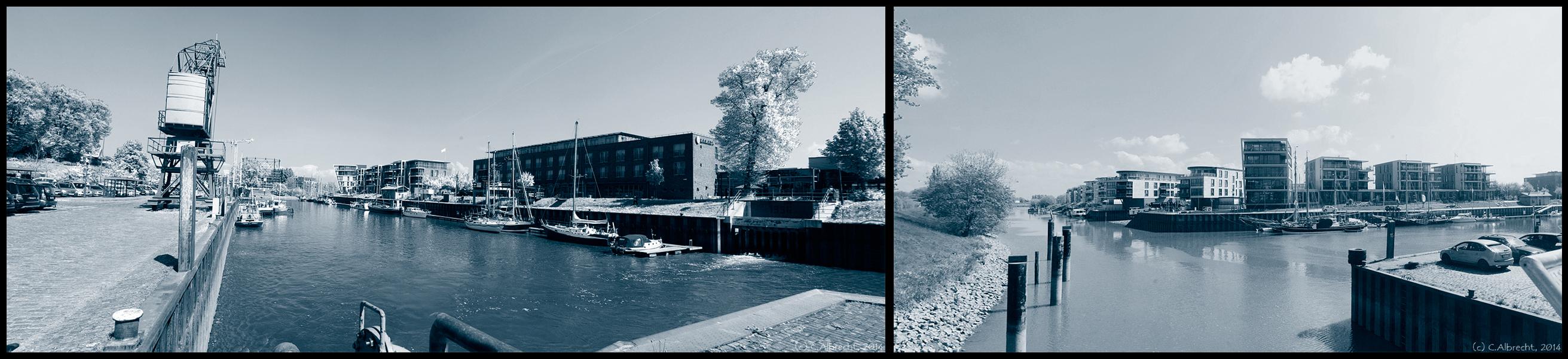 Stade (Metropolregion Hamburg) - neues Wohnen an Burggraben und Schwinge